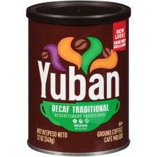 Yuban Traditional Decaf Ground Coffee, 12 oz Canister