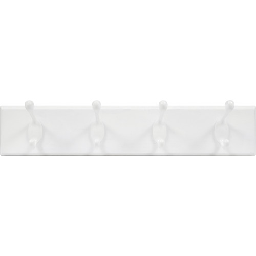 High & Mighty Hook Rail White 18
