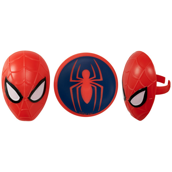 MARVEL Spider-Man™ Spider and Mask Cupcake Rings