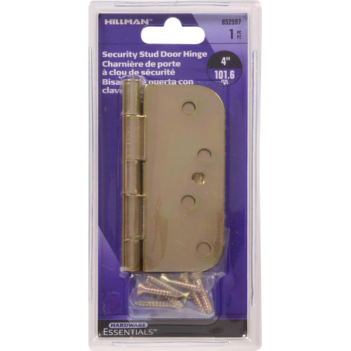 Hardware Essentials Security Stud Hinges 5/8