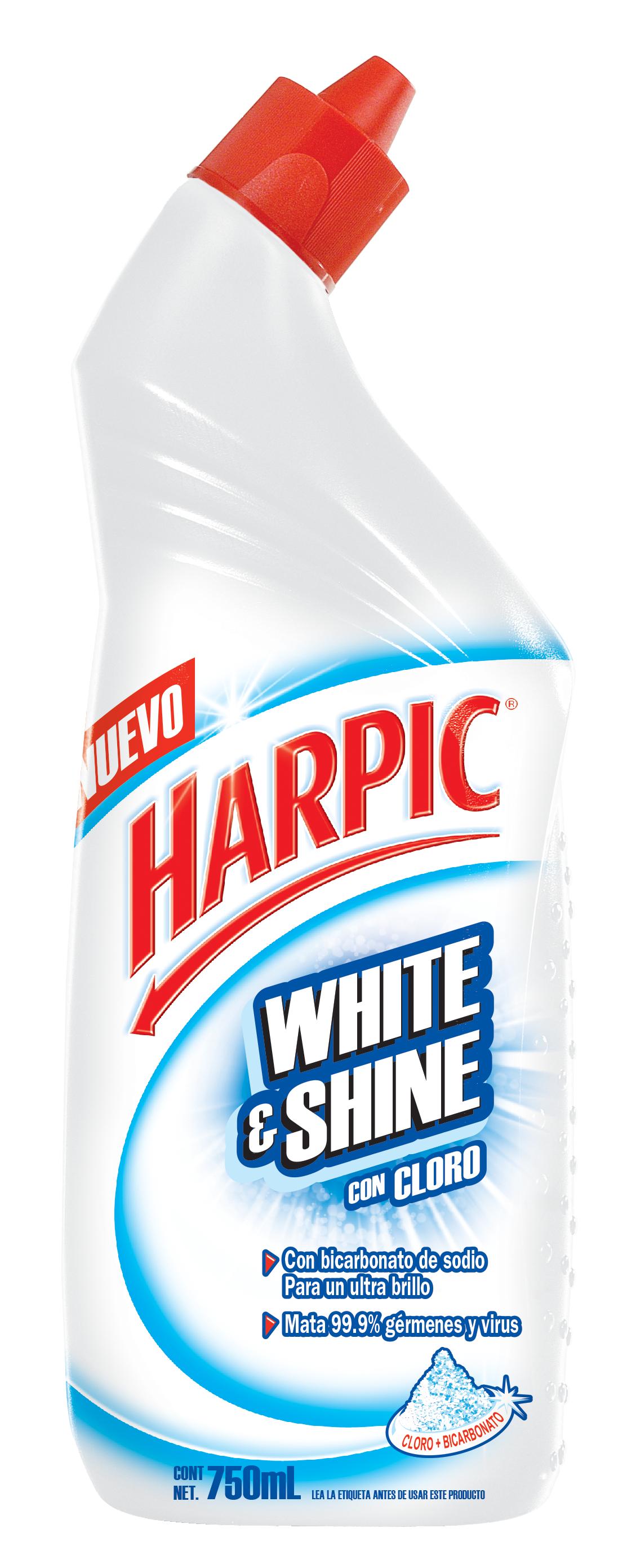 Harpic® White & Shine con Cloro, 750ml