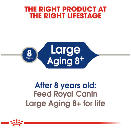 Royal Canin Size Health Nutrition Large Aging 8+ Dry Dog Food