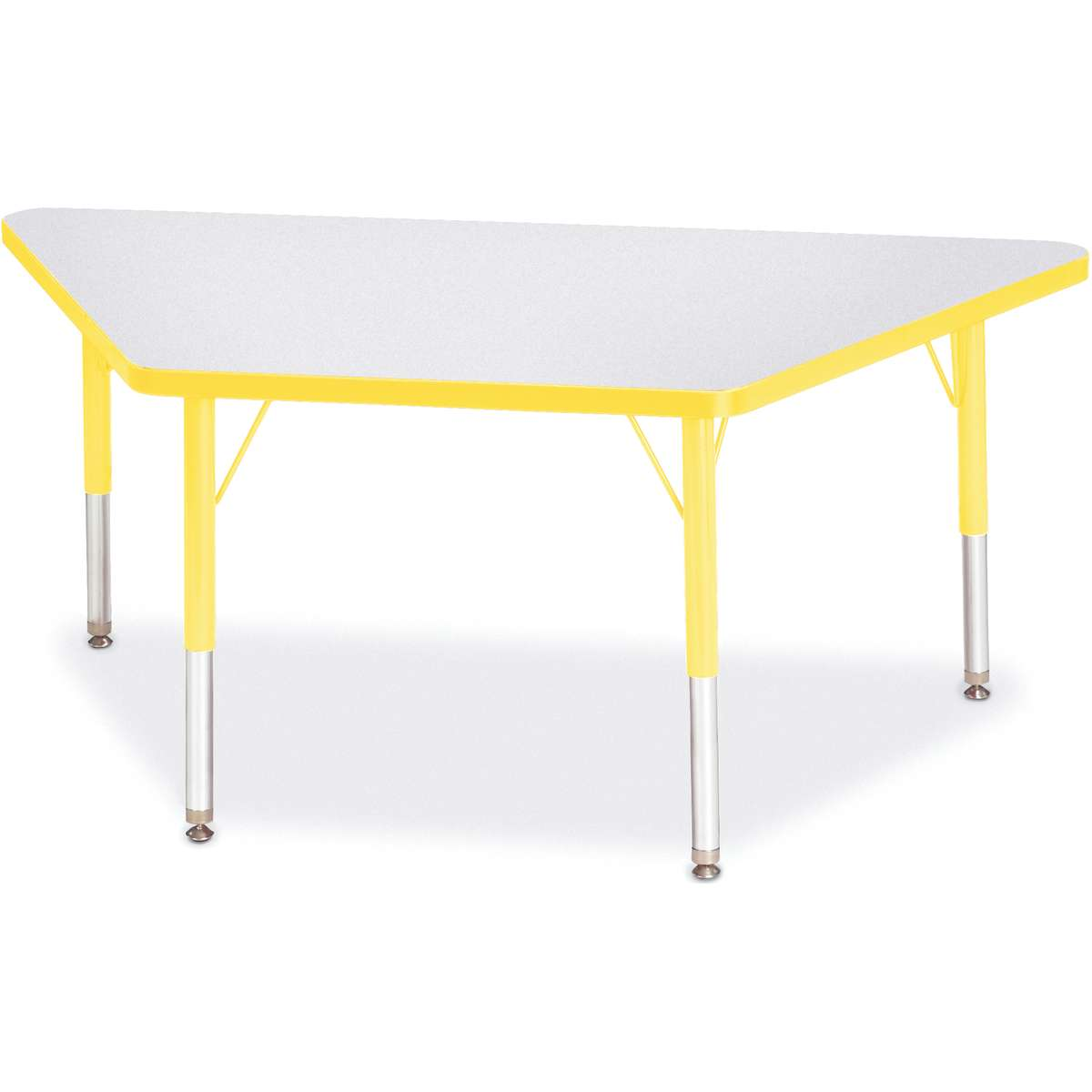 Berries 174 Adjustable Activity Table Trapezoid 24 Quot X 48
