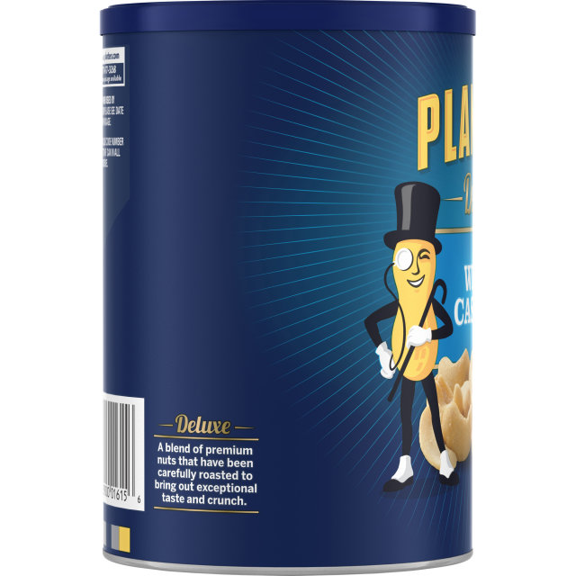 PLANTERS Deluxe Whole Cashews 18.25 oz Can