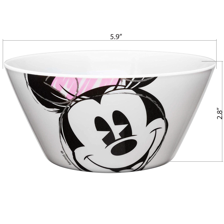 Disney Dinnerware Set, Minnie Mouse, 2-piece set slideshow image 6