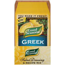 Good Seasons Greek Dressing & Recipe Mix 0.7 oz Envelope