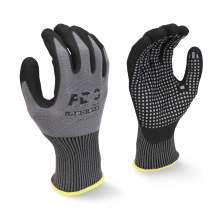 Radians RWG33 FDG Palm Coating with Nitrile Dots Work Glove