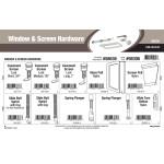 Window & Screen Hardware Assortment