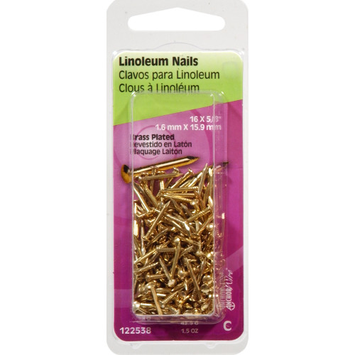 Linoleum Nails 5/8