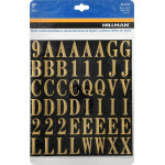 Square Cut Self Adhesive Letters & Numbers