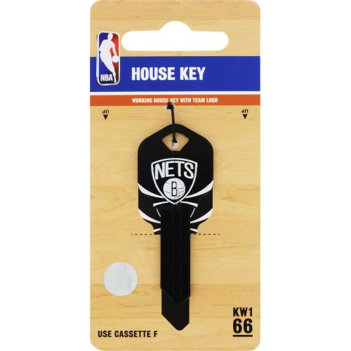NBA Brooklyn Nets Key Blank