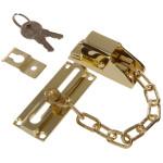 Hardware Essentials Keyed Locked Door Chains