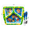 Paw Patrol Kids Dinnerware Set, Marshall & Friends, 3-piece set slideshow image 5