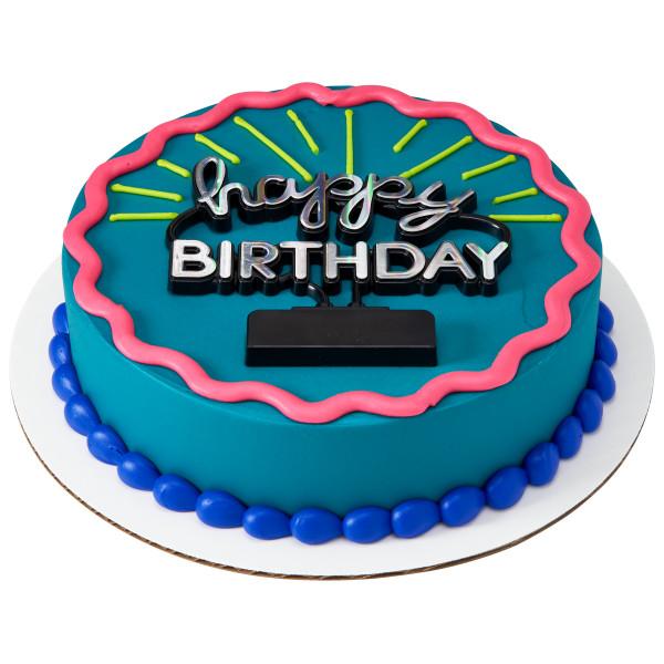 Happy Birthday Neon Sign Layon