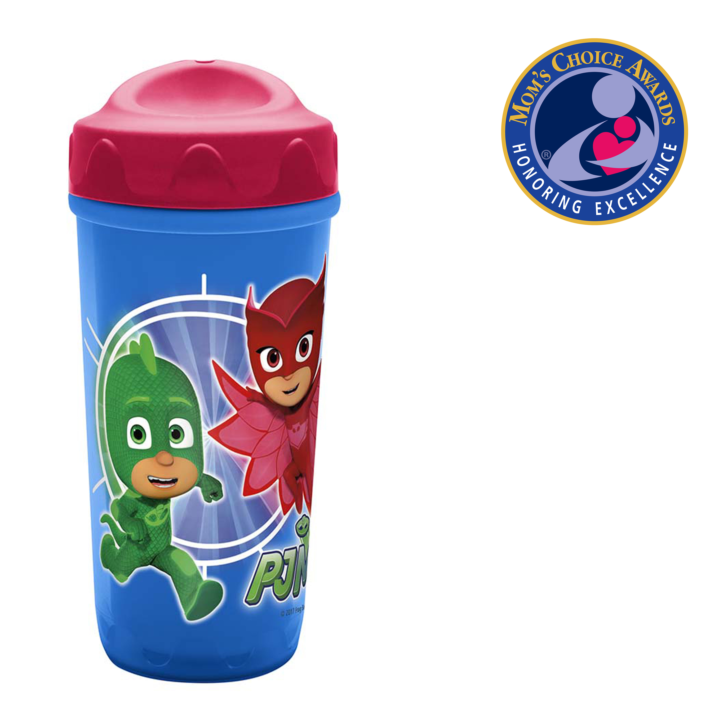 PJ Masks 8.7 ounce Sippy Cup, Catboy, Owlette & Gekko, 2-piece set slideshow image 2