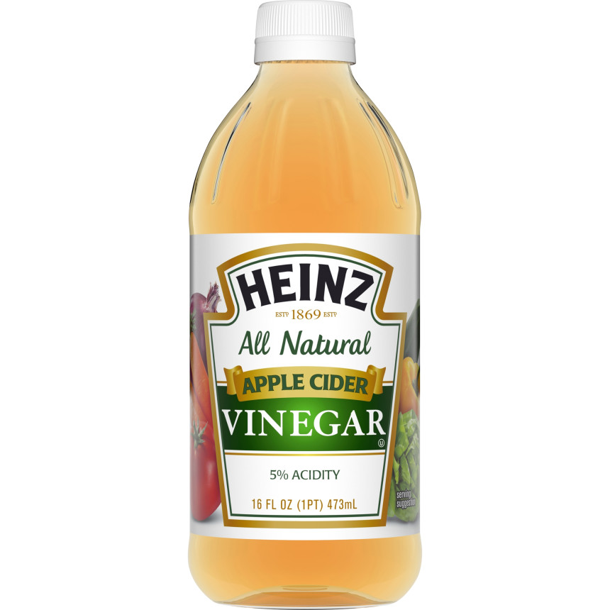 Heinz Apple Cider Vinegar, 12 - 16 fl oz Bottles image