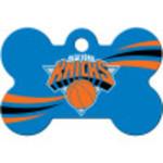 New York Knicks Chrome Large Bone Quick-Tag