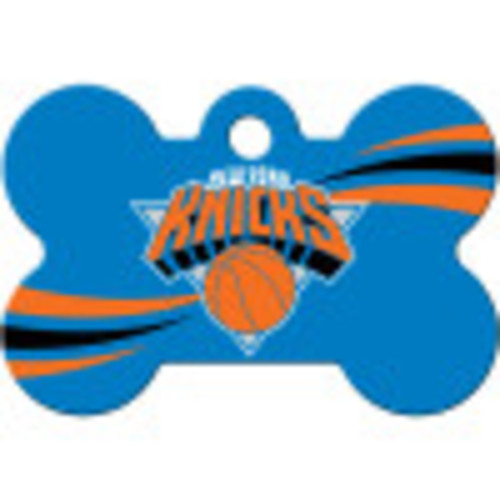 New York Knicks Chrome Large Bone Quick-Tag 5 Pack