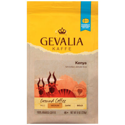 Gevalia Special Reserve Kenya Fine Ground Coffee 8 oz Bag