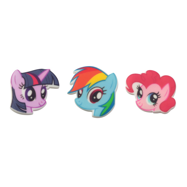 My Little Pony™ Characters SugarSoft® Printed Edible Decorations