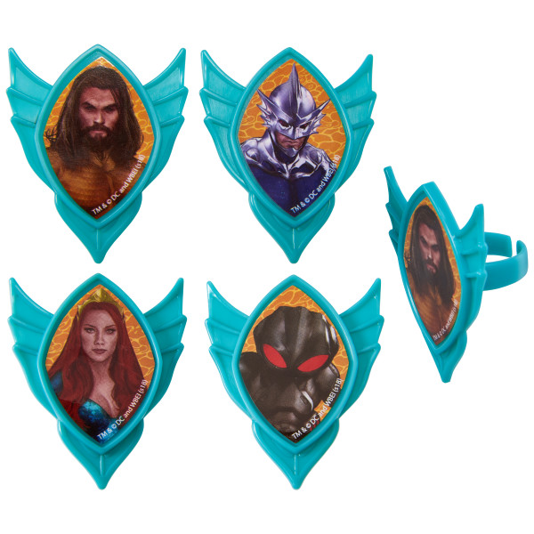 Aquaman™ Quest Cupcake Rings