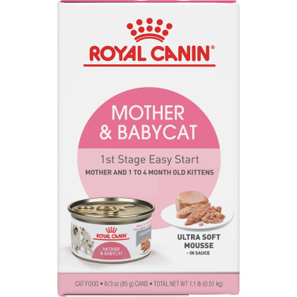Mother and Babycat Ultra Soft Mousse in Sauce Canned Cat Food