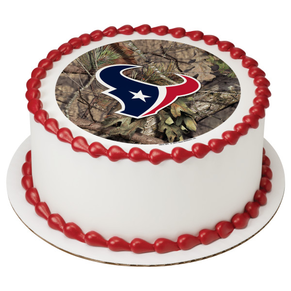 NFL Houston Texans Mossy Oak® PhotoCake® Edible Image®