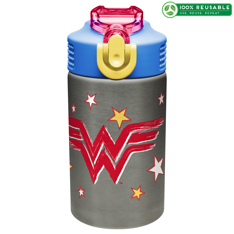 DC Comics 15.5 ounce Water Bottle, Wonder Woman slideshow image 1