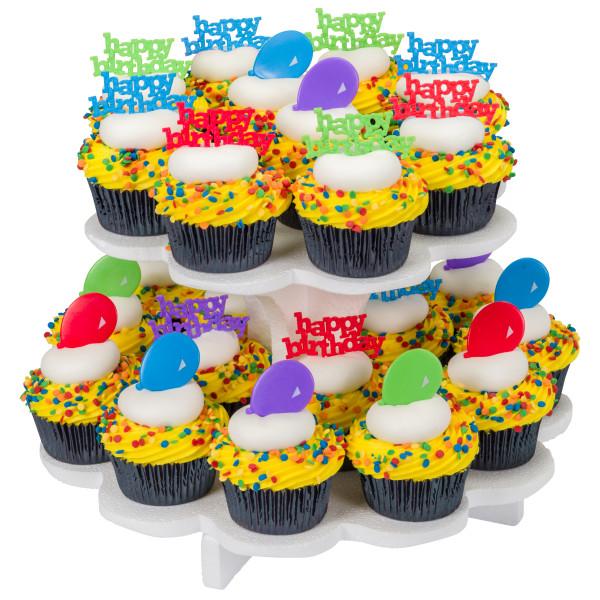 2 Tier Sweet Server Cupcake Stand Retail Server