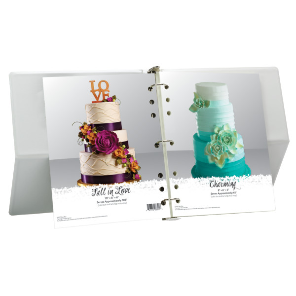 """""""Wedding Elegance"""" Wedding and Anniversary Book The Magic of Cakes® Wedding Page"""