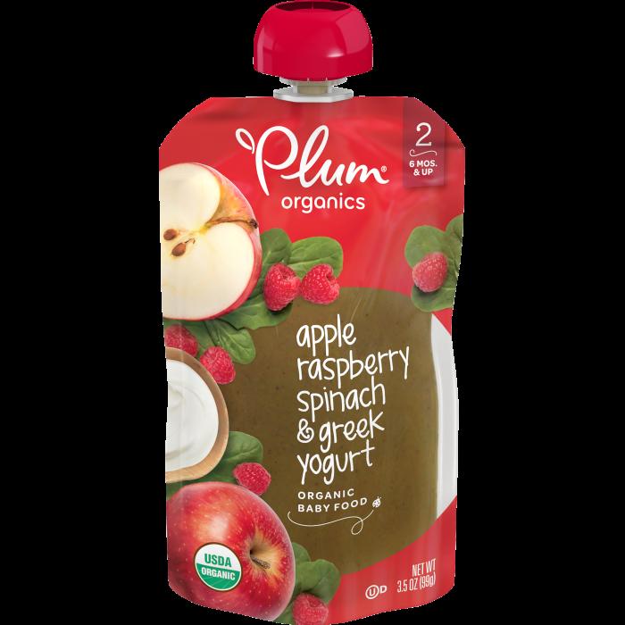 Apple, Raspberry, Spinach & Greek Yogurt Baby Food