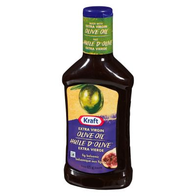 Kraft Fig Balsamic with Extra Virgin Olive Oil Salad Dressing