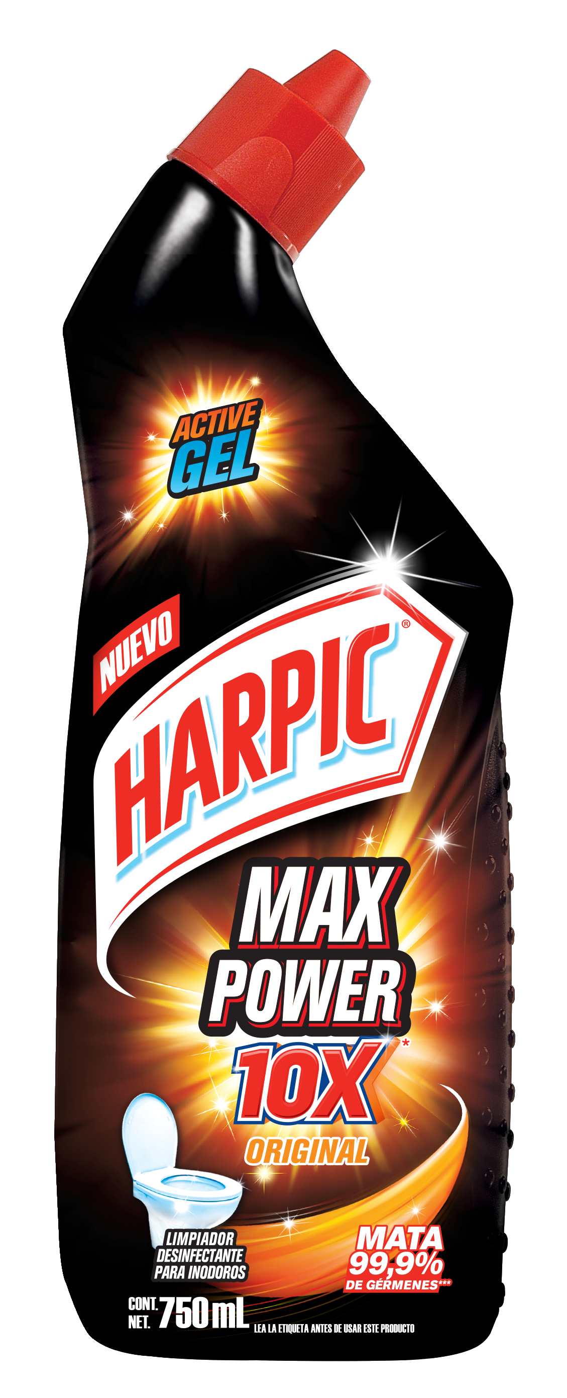 Harpic® Max Power 10x Original 750ml