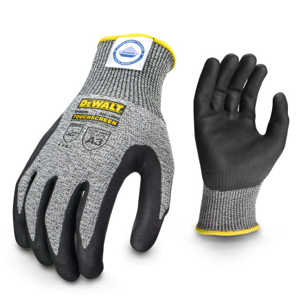 DEWALT DPGD809 CUT5 Dyneema® Cut Protection Level A3 Touchscreen Glove