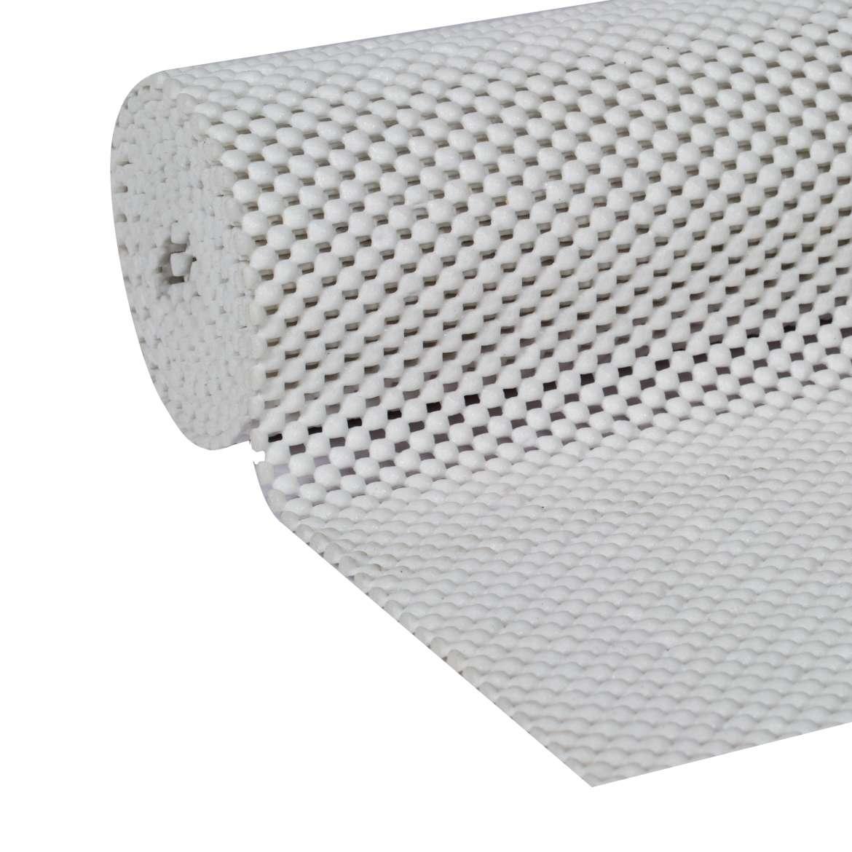 Supreme Grip Easy Liner Shelf Liner White 6 Ft Duck Brand