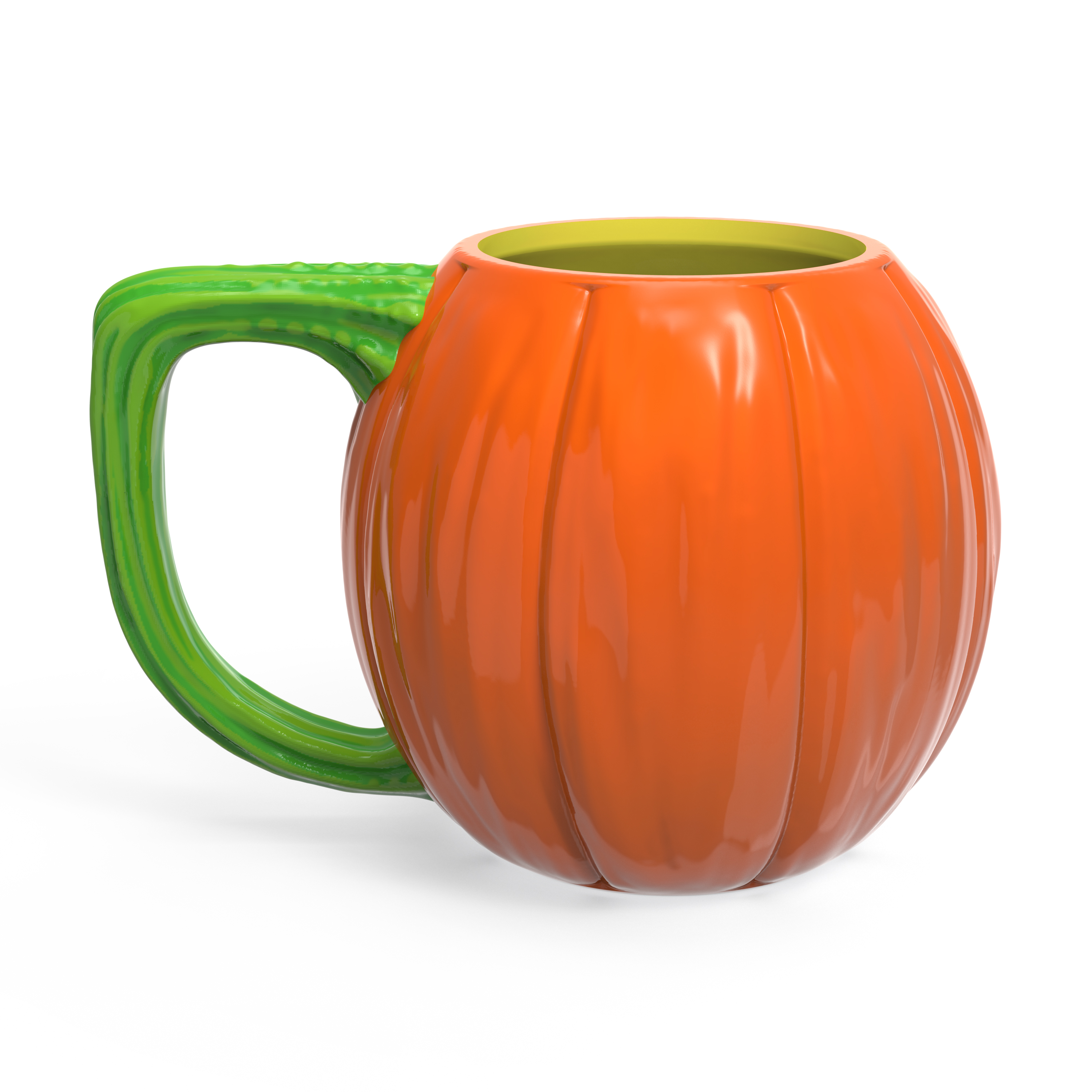 Halloween 15 ounce Coffee Mug and Spoon, Jack O' Lantern slideshow image 5