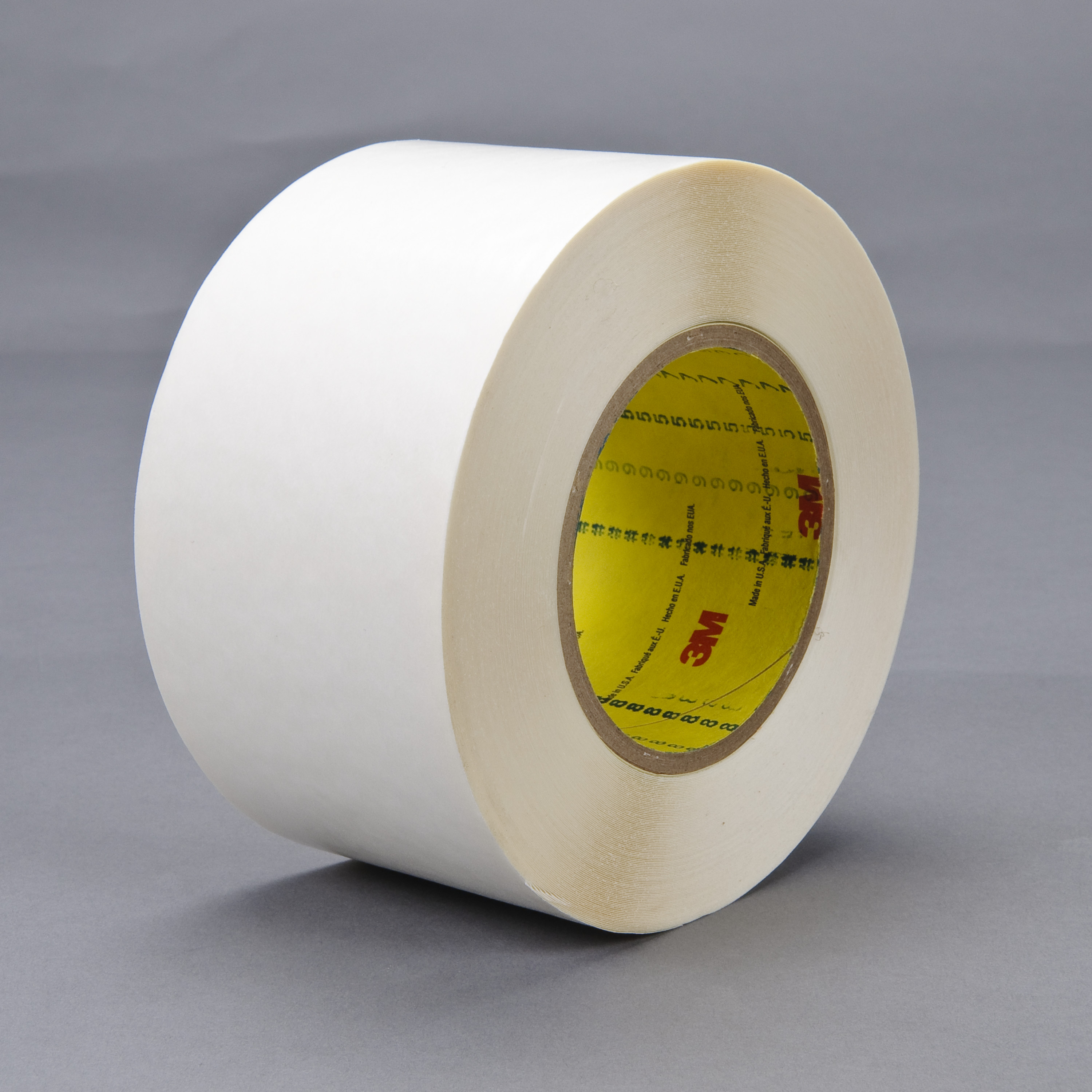 3M™ Double Coated Tape 9579, White, 9 mil, Roll, Config