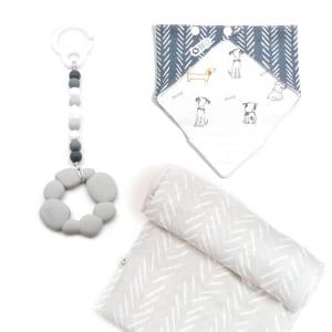 Elli - 3-Piece Gift Set for Babies Let's Go for a Walk!