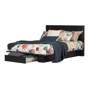 Holland - Platform Bed with Drawer and Headboard Set