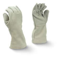 Radians RWG5100 Gray Split Economy Shoulder Cowhide Leather Welding Glove