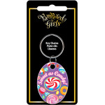 Pampered Girls Sweet as Candy Key Chain