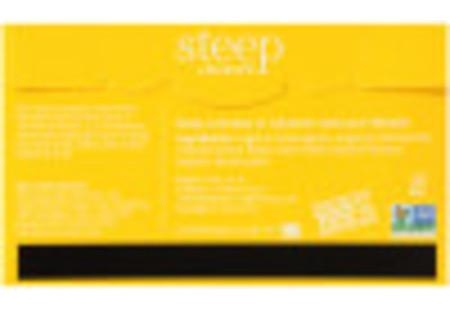Back of steep by Bigelow Organic Chamomile Citrus Box of 20 tea bags - ingredient list