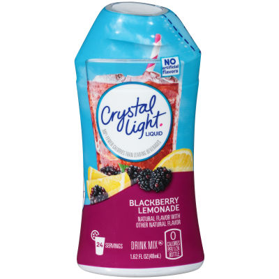 Crystal Light Liquid Blackberry Lemonade Drink Mix 1.62 oz Bottle