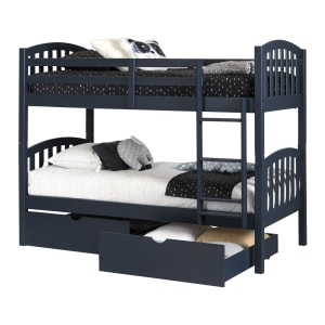 Ulysses - Bunk Beds and Rolling Drawers Set