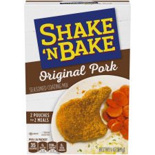 Shake 'N Bake Original Pork Seasoned Coating Mix, 2 ct Packets
