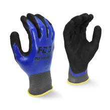 Radians RWG32 FDG Coating Full Dipped Waterproof Nitrile Work Glove