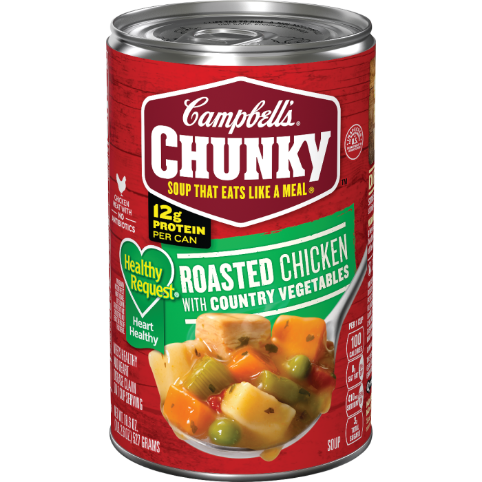 Roasted Chicken with Country Vegetables Soup