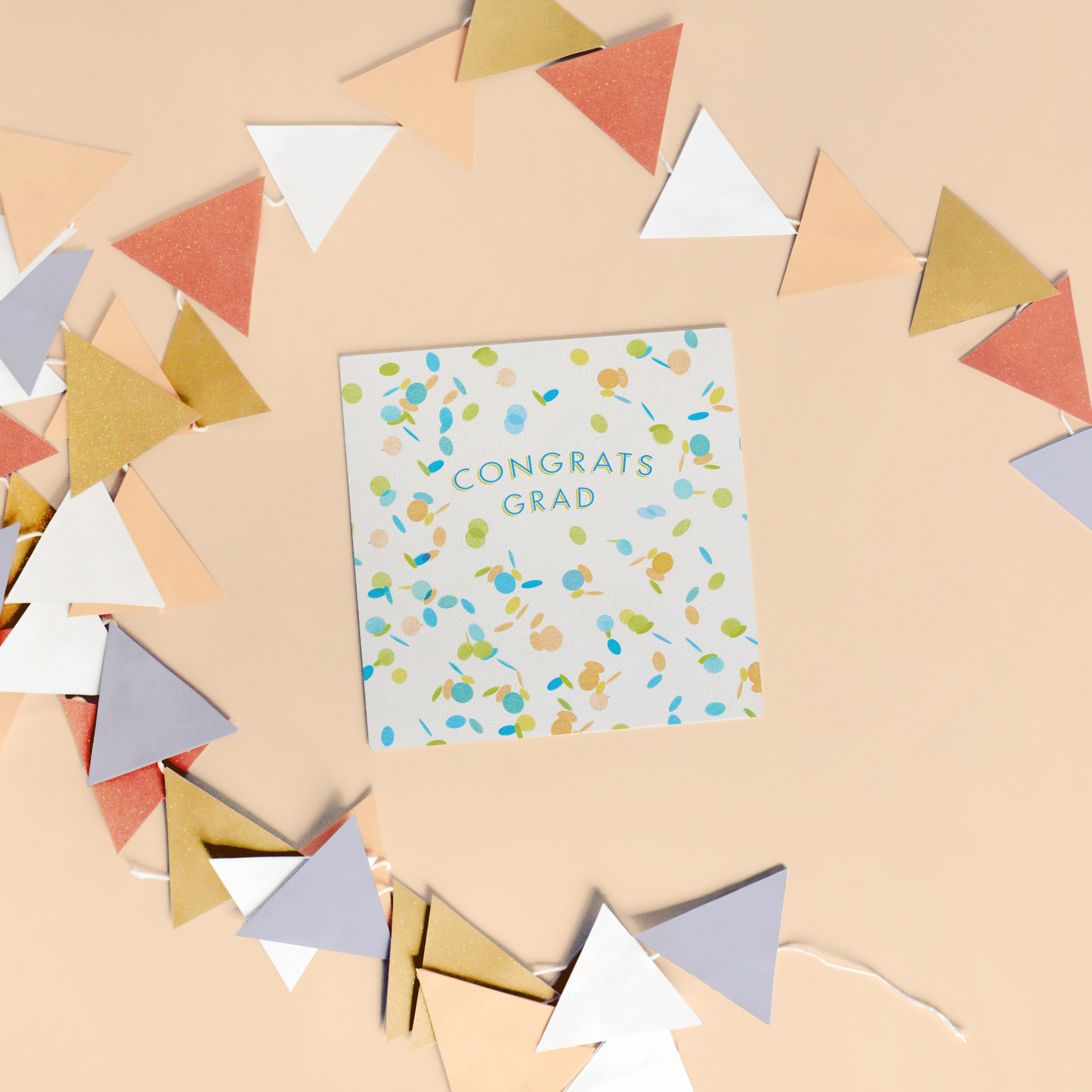 Confetti Graduation Card, 6-Count image