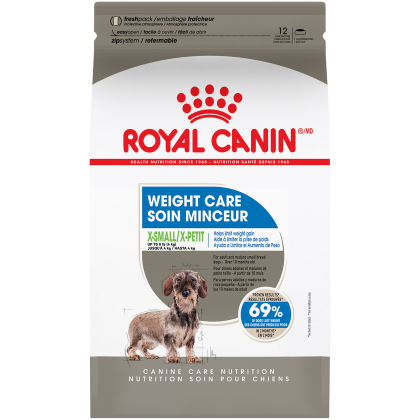Royal Canin Canine Care Nutrition X-Small Weight Care Dry Dog Food