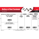Battery & Fleet Terminals Assortment (Top & Side Post)